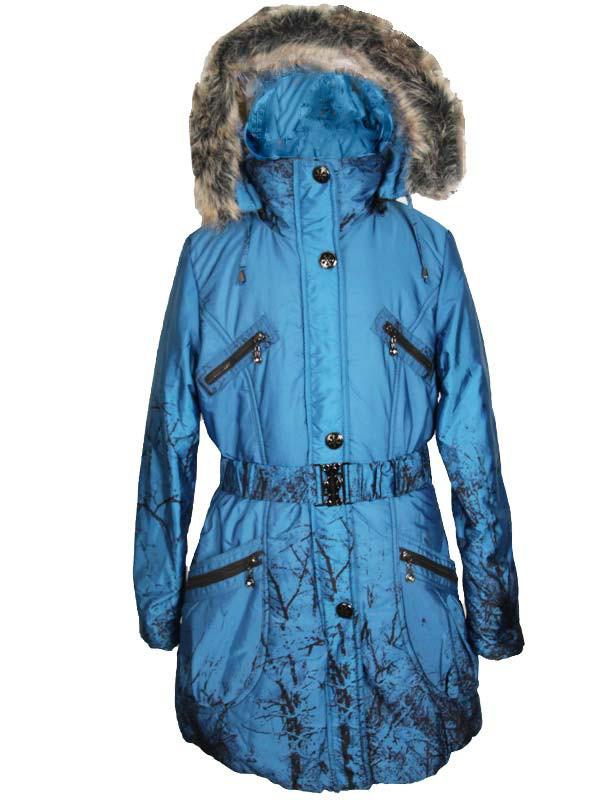 Подростковая зимняя куртка для девочки 10 -11 лет