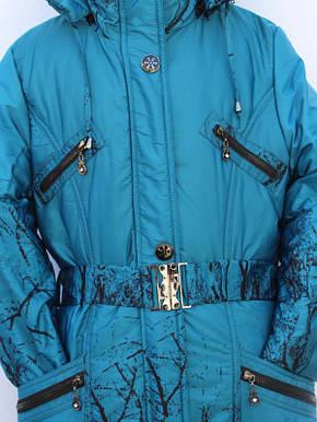 Подростковая зимняя куртка для девочки 10 -11 лет  , фото 2