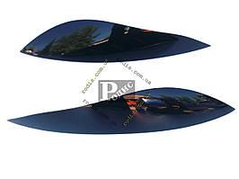 Реснички Mitsubishi Lancer IX (2003-2007) (Spirit) - Накладки на оптику декоративные Митсубиси Лансер 9