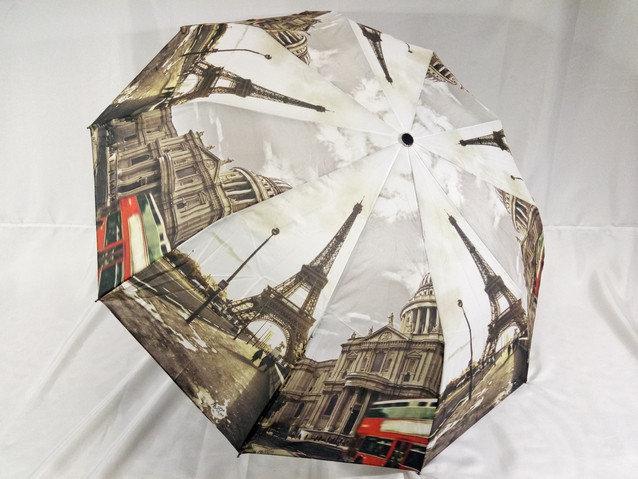 Женский зонт полуавтомат города спиц 10