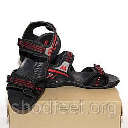 Мужские сандалии OCCO Black Red