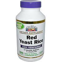 Красный дрожжевой рис, 21st Century Health Care,300 к.