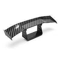 Mini Carbon Fiber Задний хвост Спойлер Крыло Empennage Body Набор Отделка обрезки