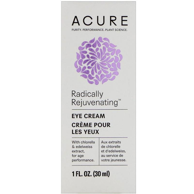 Крем для глаз, Acure Organics,30 мл