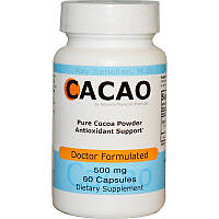 Какао, Advance Physician Formulas, 500 мг, 60 капсул