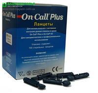 Универсальные ланцеты для автопрокалывателя On-Call™ Plus , Acon (США) 100 шт