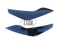 Реснички FORD FOCUS II+ (2008-2010) (Spirit) - Накладки на оптику декоративные Форд Фокус 2