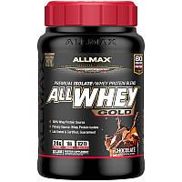 Премиум Изолят/Смесь Сывороточного Протеина, Шоколад, Premium Isolate, ALLMAX Nutrition, 907 гр.