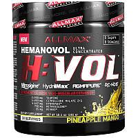 ALLMAX Nutrition, H:VOL, оксид азота, перед тренировкой, насыщение крови в сосудах, ананас и манго, 285 г (10,1 унций)