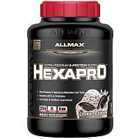 ALLMAX Nutrition, Hexapro, ультрапремиальный белок + среднецепочечные триглицериды и кокосовое масло, печенье и сливки, 5,5 фунтов (2,5 кг)