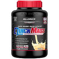 ALLMAX Nutrition, QuickMass Loaded, Rapid Mass Gain Catalyst, Vanilla, 95 oz (2.7 kg), фото 1