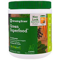 Amazing Grass, GreenSuperFood, Порошок для приготовления натурального напитка, 8,5 унций (240 г)