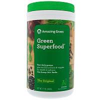 Amazing Grass, GreenSuperFood, Порошок для приготовления натурального напитка, 17 унций (480 г)