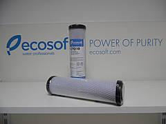 """Картридж из прессованного активированного угля Ecosoft 2,5""""х10"""""""
