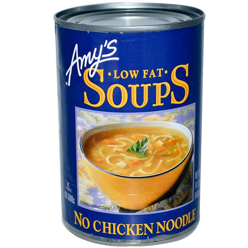 Amys, Лапша без курицы с низким содержанием жира, 14,1 унции (400 г)