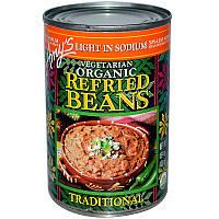 Традиционная фасоль, Refried Beans, Amy's, 437 г
