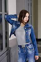 Женский джинсовый пиджак LDM