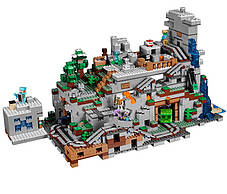 Конструктор Bela 10735 Майнкрафт Горная пещера, 2886 деталей (аналог Lego Minecraft 21137), фото 3