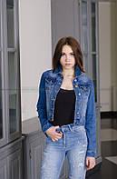 Женский джинсовый пиджак AUTHENTIC