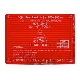 Нагревательный стол heatbed 200х300