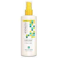 Лак для волос нормальной фиксации (Sunflower Citrus Hair), Andalou Naturals, 242 мл.