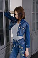 Женский джинсовый пиджак DMARKS