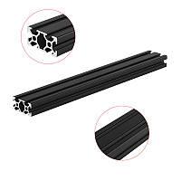 Machifit 300 мм Длина Черные анодированные 2040 T-образные алюминиевые профили Экструзионная рама для ЧПУ