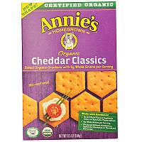 Натуральные запеченные крекеры с классическим чеддером, Annie's Homegrown, 184 г.