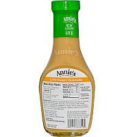 Annie's Naturals, Легкая уксусная заправка с медом и горчицей, 8 жидк. унц. (236 мл)