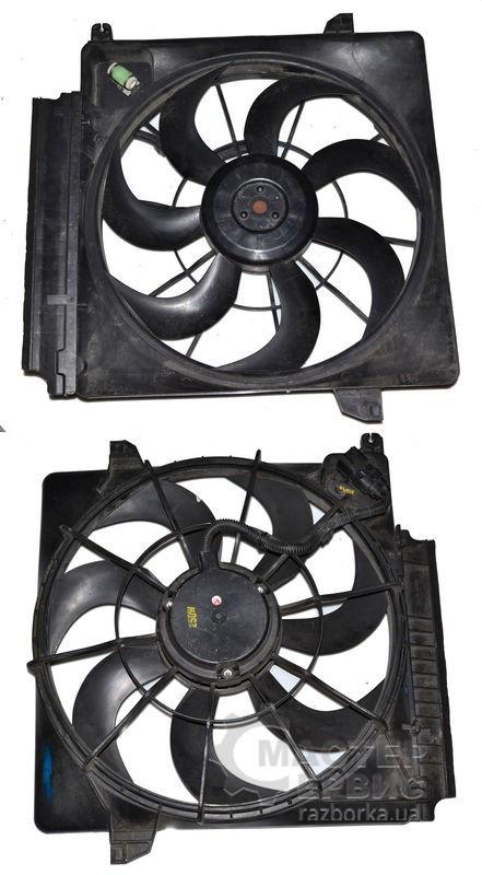 Вентилятор осн радиатора 2.2 для KIA Sorento 2009-2015 253802P000, 253802P400, 253802PXXX