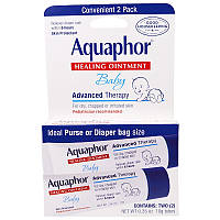 Лечебная детская мазь, 2 упаковки, Aquaphor, 10 г