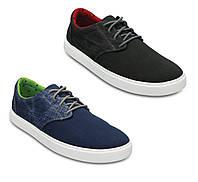 Туфли мужские текстильные Кроксы Crocs Men's Citilane Canvas Lace-up Sneaker
