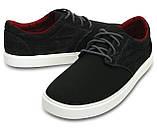 Туфли мужские текстильные Кроксы / Crocs Men's Citilane Canvas Lace-up Sneaker (203969), Черные, фото 2