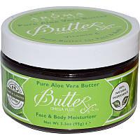 Увлажняющее масло для лица и тела, Алоэ вера, Aloe Vera Butter, Aroma Naturals, (95 г)