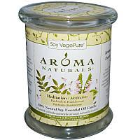 Свеча с ароматом пачули и ладана, Aroma Naturals, 260 г