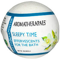 Бомбочка для ванны, Effervescents For The Bath, Sleepy Time, Aromatherapaes, 80 г