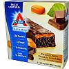 Хрустящие батончики с карамелью и двойным шоколадом, Chocolate Bar, Atkins, Advantage, 5 бат.