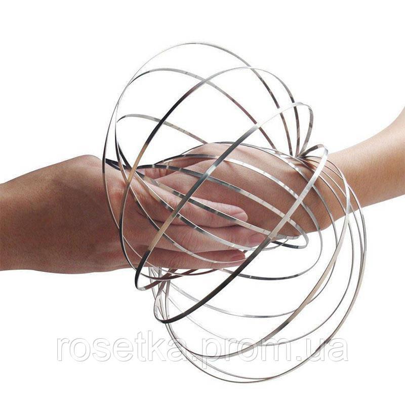 Іграшка-антистрес 3D Flow Magic Ring, Торофлакс, Toroflux, кінетична іграшка для дітей та дорослих