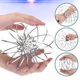 Іграшка-антистрес 3D Flow Magic Ring, Торофлакс, Toroflux, кінетична іграшка для дітей та дорослих, фото 2