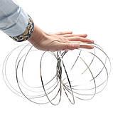Іграшка-антистрес 3D Flow Magic Ring, Торофлакс, Toroflux, кінетична іграшка для дітей та дорослих, фото 3