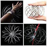 Іграшка-антистрес 3D Flow Magic Ring, Торофлакс, Toroflux, кінетична іграшка для дітей та дорослих, фото 8
