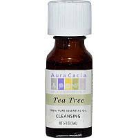 Масло чайного дерева эфирное, Aura Cacia, 15 мл