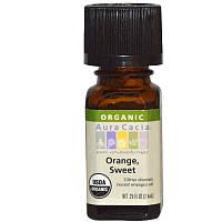 Апельсиновое масло органик (Orange, Sweet), Aura Cacia, 7,4 мл