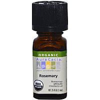 Органическое масло розмарина (Rosemary), Aura Cacia, 7,4 мл
