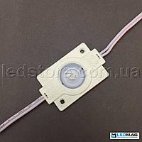Светодиодный модуль с линзой 1LED SMD2835 Белый 5000-5500К IP65 (для подсветки больших площадей), фото 1