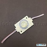 Светодиодный модуль с линзой 1LED SMD2835 Белый 5000-5500К IP65 (для торцевой подсветки), фото 1