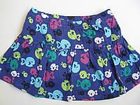 Трикотажная юбка с рыбками (Размер 3Т) Jumping beans с пришитыми шортиками