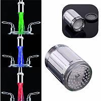 ABS Материал LED Температура смесителя Температура Датчик 3 Цвет Нет Батарея Водопроводный кран Смеситель Glow Shower