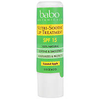 Лечебный бальзам для губ Nutri-Soothe Lip Treatment SPF 15, Babo Botanicals, 4,2 г, фото 1