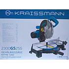 Пила торцовочная Kraissmann 2300 GS 255 Ременной привод. Торцовочная пила Крайсман, фото 6